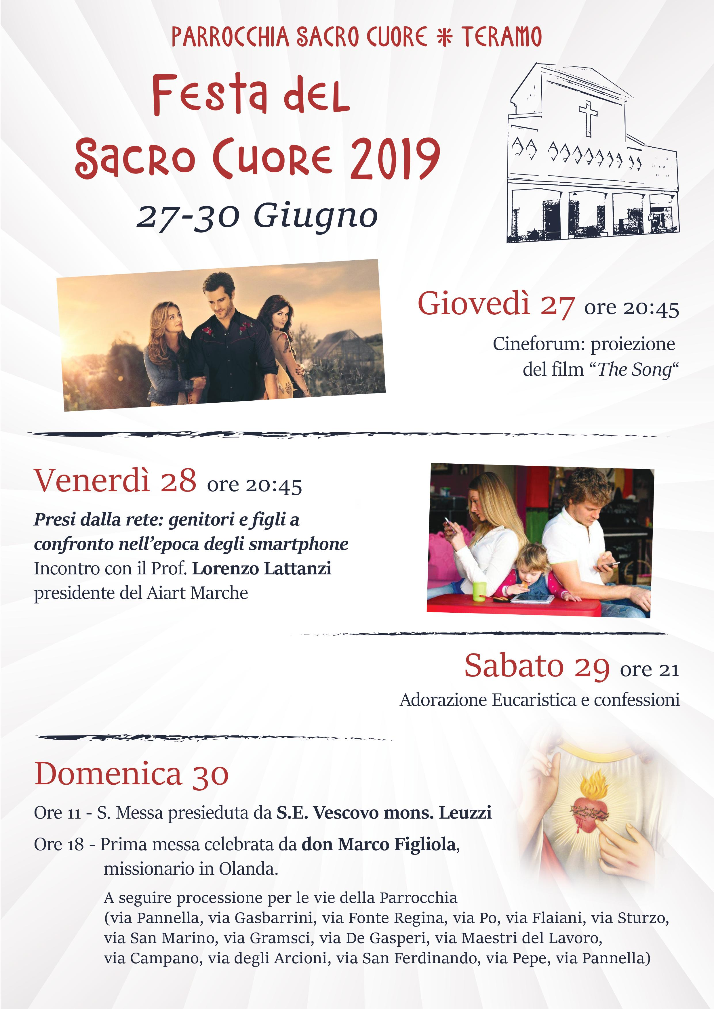 Calendario Team Teramo.Sacro Cuore Teramo